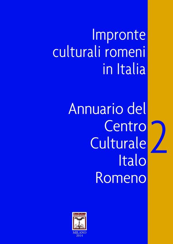 Impronte culturali romene in Italia 2 - Front Cover